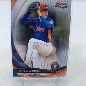 Lot # 20 2020 Topps Bowman's Best FORREST WHITLEY