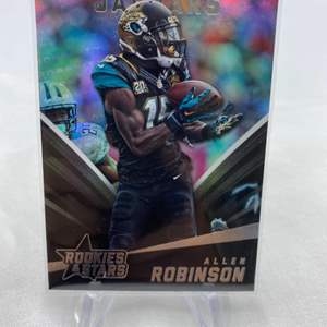 Lot # 127 2015 Panini Rookies & Stars Football ALLEN ROBINSON Jaguars