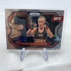 Lot # 134 2021 Panini Prizm UFC VALENTINA SHEVCHENKO