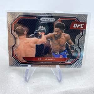 Lot # 135 2021 Panini Prizm UFC NEIL MAGNY