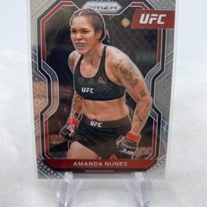 Lot # 138 2021 Panini Prizm UFC AMANDA NUNES