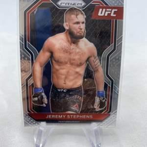 Lot # 140 2021 Panini Prizm UFC JEREMY STEPHANS