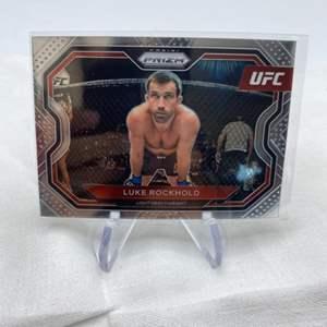 Lot # 143 2021 Panini Prizm UFC LUKE ROCKHOLD