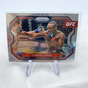 Lot # 144 2021 Panini Prizm UFC KAMARU USMAN