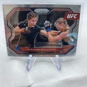 Lot # 145 2021 Panini Prizm UFC ROXANNE MODAFFERI