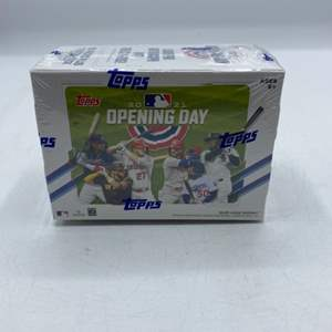 Lot # 146 2021 Topps Opening Day Sealed Box