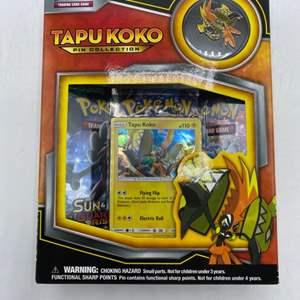 Lot # 149 Pokemon Tapukoko Pin Collection Sealed Box