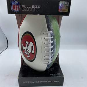 Lot # 151 San Francisco 49ers Full Size Football