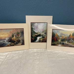 Lot # 45 Lot of Nature Prints with Architecture- Still in Plastic Covering