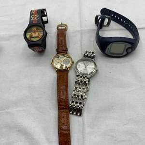 Lot # 63 Lot of Watches - Merona, Silvertone, Digital, Michael Jordan