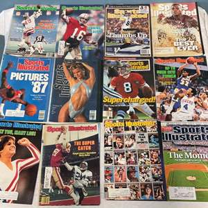 Lot # 67 Lot of Sports Illustrated Magazines