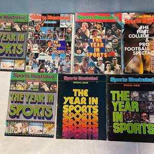 Lot # 68 Lot of Sports Illustrated Special Issue Magazines