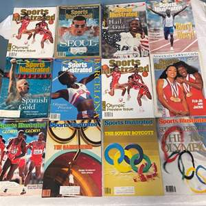 Lot # 69 Lot of Sports Illustrated Magazines, Olympics Themed