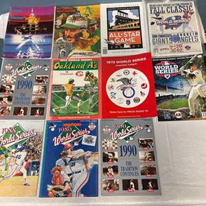 Lot # 70 Lot of MLB Magazines