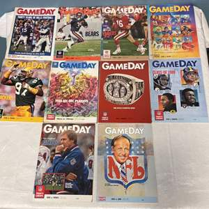Lot # 71 Lot of Gameday Magazines