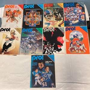 Lot # 72 Lot of 1979 Pro Magazines