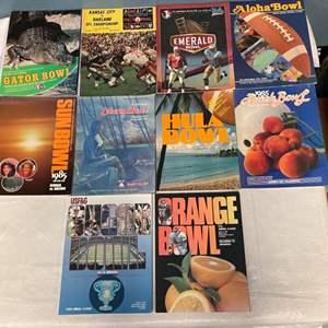 Lot # 74 Lot of 80s Bowl Magazines