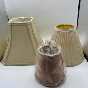 Lot # 92 Lot of Small Lampshades