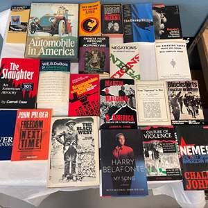 Lot # 93 Lot of Books