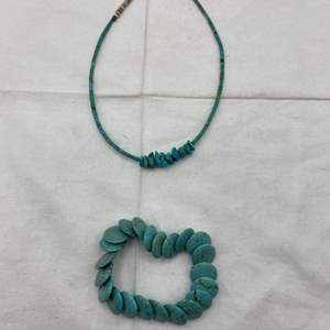 Lot # 118 Lot of Turquoise Jewelry - Necklace and Bracelet
