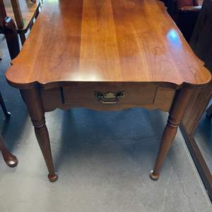 Lot # 18 Side Table With Small Books