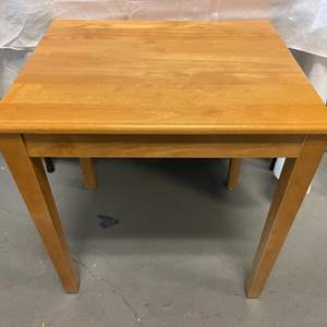 Lot # 20 Small Table