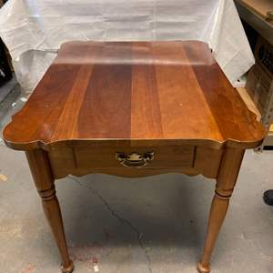 Lot # 22 Side Table With Drawer