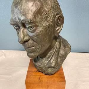Lot # 30 Sculpture of A Man By Jacquie Flood