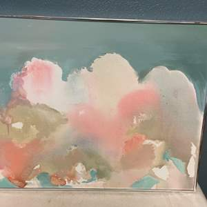 Lot # 52 Painting of Clouds