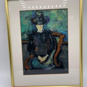 Lot # 54 Painting Of A Woman