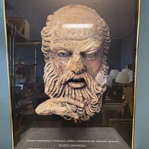 Lot # 56 Etrusca Disciplina Print