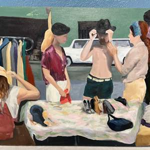 Lot # 62 Painting of People By Jacquie Flood