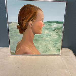 """Lot # 71 Painting Titled """"Daughter of the Sea"""", signed Jacquie Flood"""