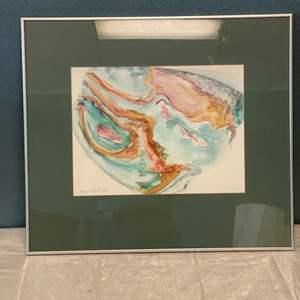 Lot # 80 Color Print, signed Jacquie Flood '82