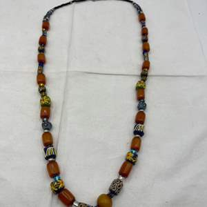 Lot # 105 African Beaded Necklace