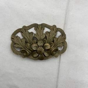 Lot # 108 Victorian Bronzetone Pin