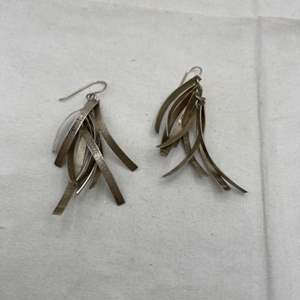 Lot # 110 Mexican Silver Earrings