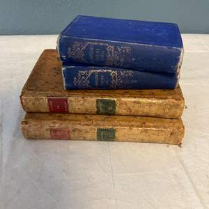 Lot # 118 Antique Poetry and Theater Books
