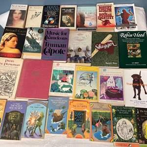 Lot # 123 Lot of Books