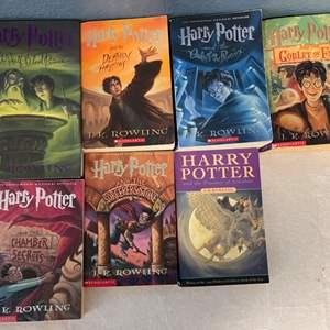 Lot # 132 Lot of Harry Potter Books