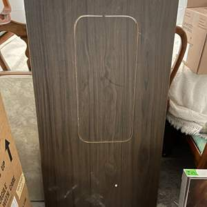 Lot # 148 Medium-Sized Folding Table, Rectangular - Middle Piece Comes Out
