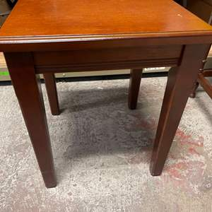 Lot # 162 Small Wooden Side Table, Some Scuffs