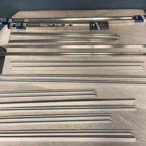 Lot # 167 Lot of Frame-Up Metal Section Frame