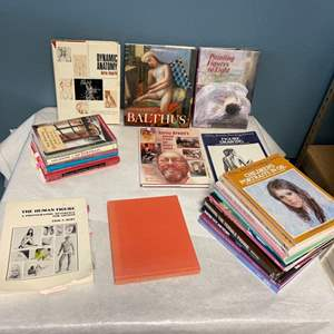Lot # 197 Books on Portrait Painting and Anatomy