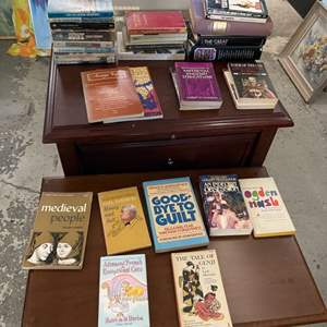 Lot # 200 Lot of Books - Medieval English Literature, Classic Nonfiction, Fables and Myths
