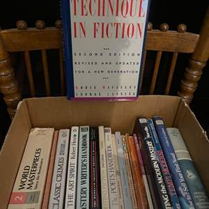 Lot # 201 Lot of Books - Writing Technique and How to Sell Books