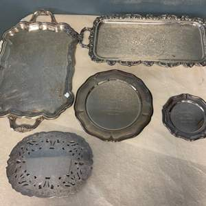 Lot # 216 Lot of Trays