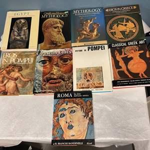 Lot # 222 Lot of Greek and Roman Books