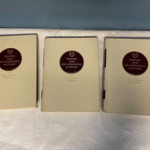 Lot # 227 Lot of Webster's Third New International Dictionary