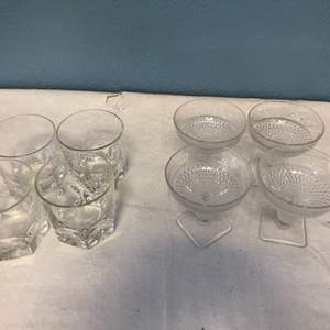 Lot # 239 Lot of Glass Cups